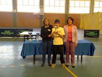 Pablo Romero, primer clasificado Infantil-Cadete