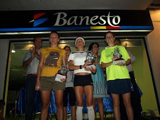 Vencedoras absolutas femeninas Carrera Valle Osa Constantna 2010
