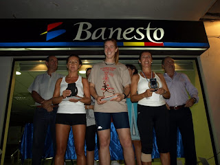 Vencedoras femeninas locales Carrera Valle Osa Constantina 2010