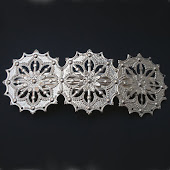 Filigree Hair Slide from DamselflyGemma