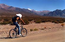 Pedaleando en Argentina