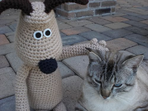 Blog de Goanna: Patron Amigurumi de Perro Gromit