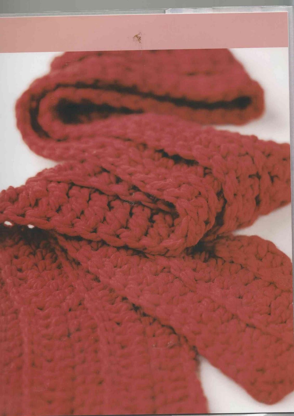 Blog de Goanna: Patrón Bufanda de Crochet Fácil