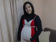 Lilian aos 6 meses