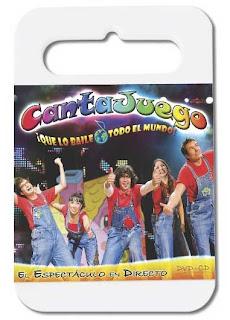 dvd cantajuegos que lo baile