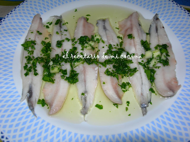 anchoas en vinagre