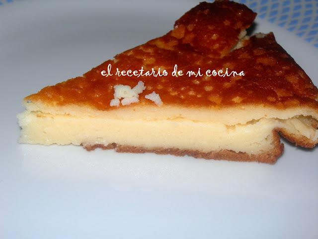 Tarta de queso de Burgos