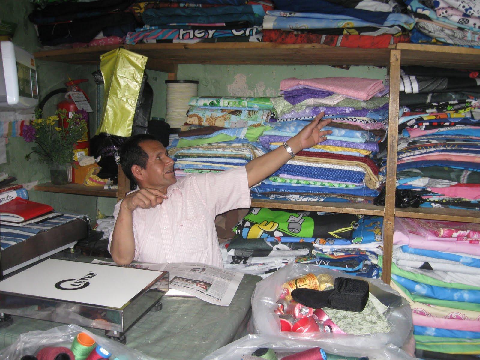 Manos a la obra nuestro huarique de telas para - Telas para cortinas por metros online ...