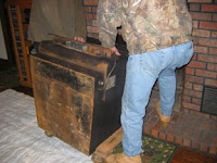 """Tales from FAR Manor: Earth Stove """"Colony Hearth"""" Fireplace Insert"""