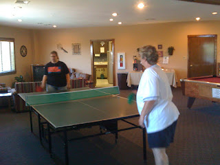 Mrs. Fetched and DD ping-ponging