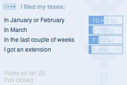 tax poll