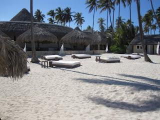 Beach tents at Paradisus Palma Real