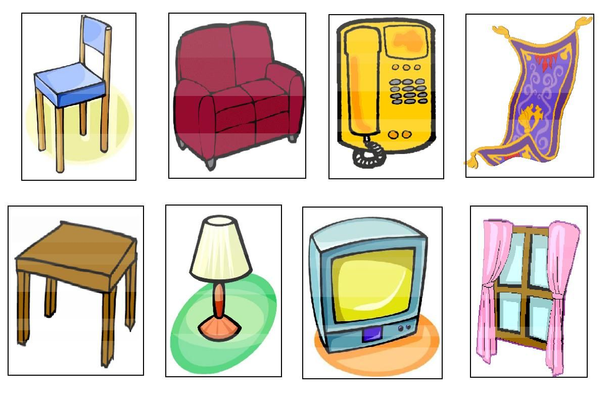Los tesoros de mi baulito noviembre 2010 for 10 objetos del salon en ingles