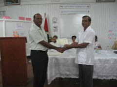 Mr Maydha Persaud Master Trainer