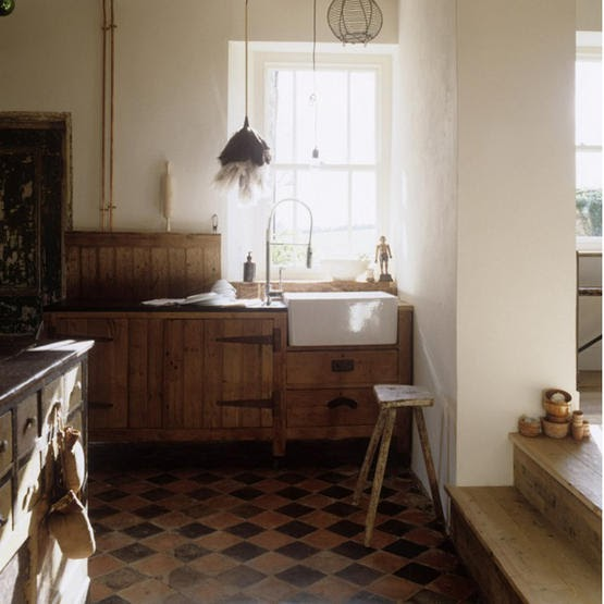 Rustic Kitchen Sink: Moon To Moon: Butlers Sink's