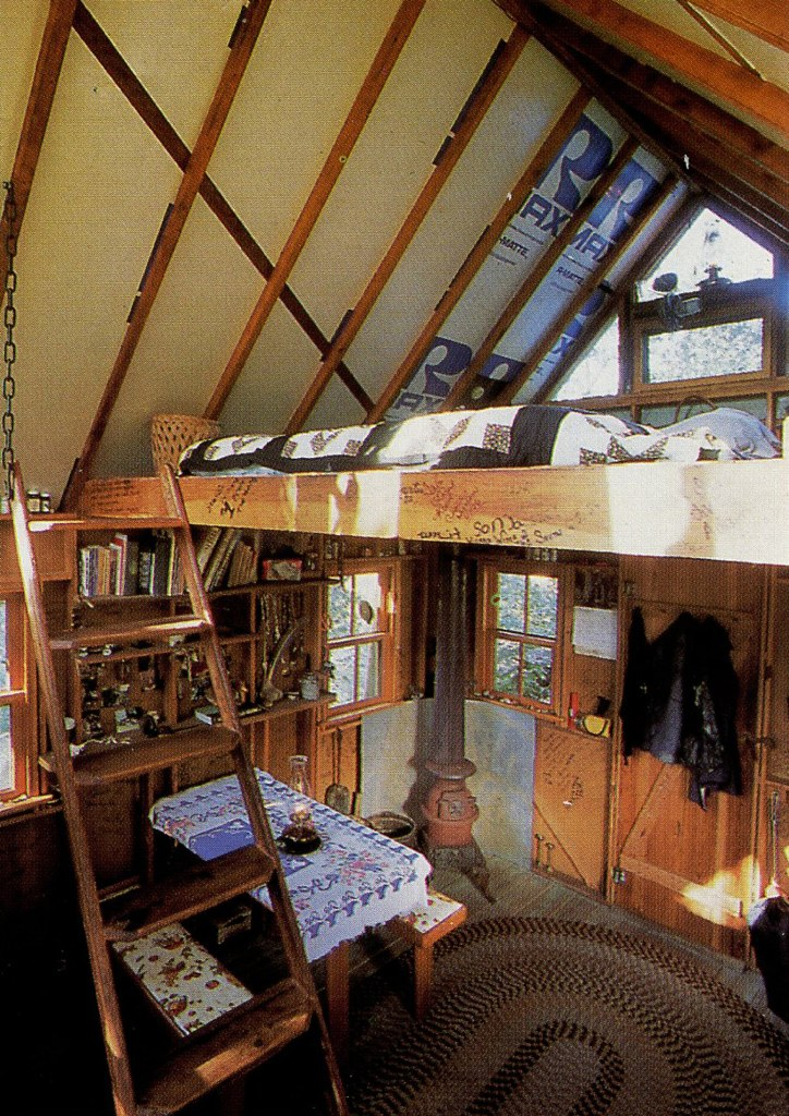 Moon to moon wooden homes pt 2 for Home loft