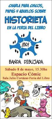 Banda Dibujada en la Feria del Libro de Buenos Aires