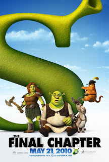 Shrek 4, poster de la película