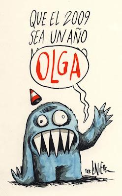 Tarjeta Liniers - por un 2009 muy OLGA!