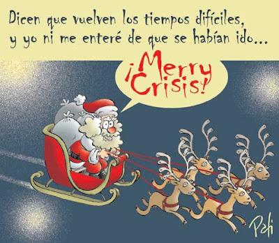 Tarjeta Merry Crisis de Pati
