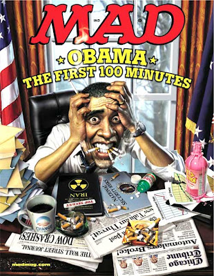 MAD: Barak Obama cover