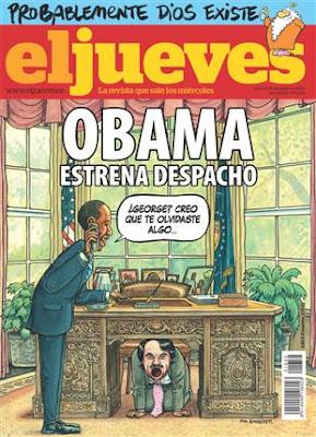 El Jueves, número 1625: Barack Obama llega a la Casa Blanca