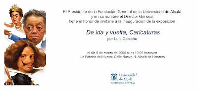De ida y vuelta, la expo de Luis Carreño en La Fábrica del Humor