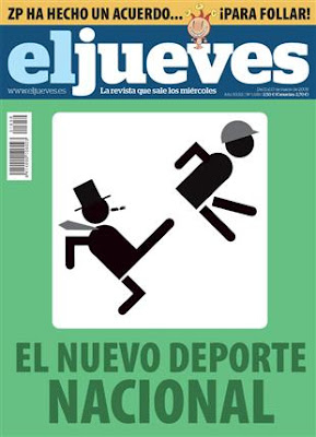 Revista El Jueves, portada del número 1659