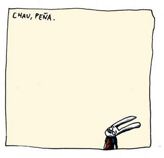 Chau Peña, por Liniers