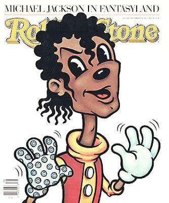 Michael Jackson en la tapa de Rolling Stone