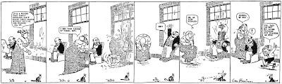 Primera tira donde apararecen los personajes de Krazy Cat