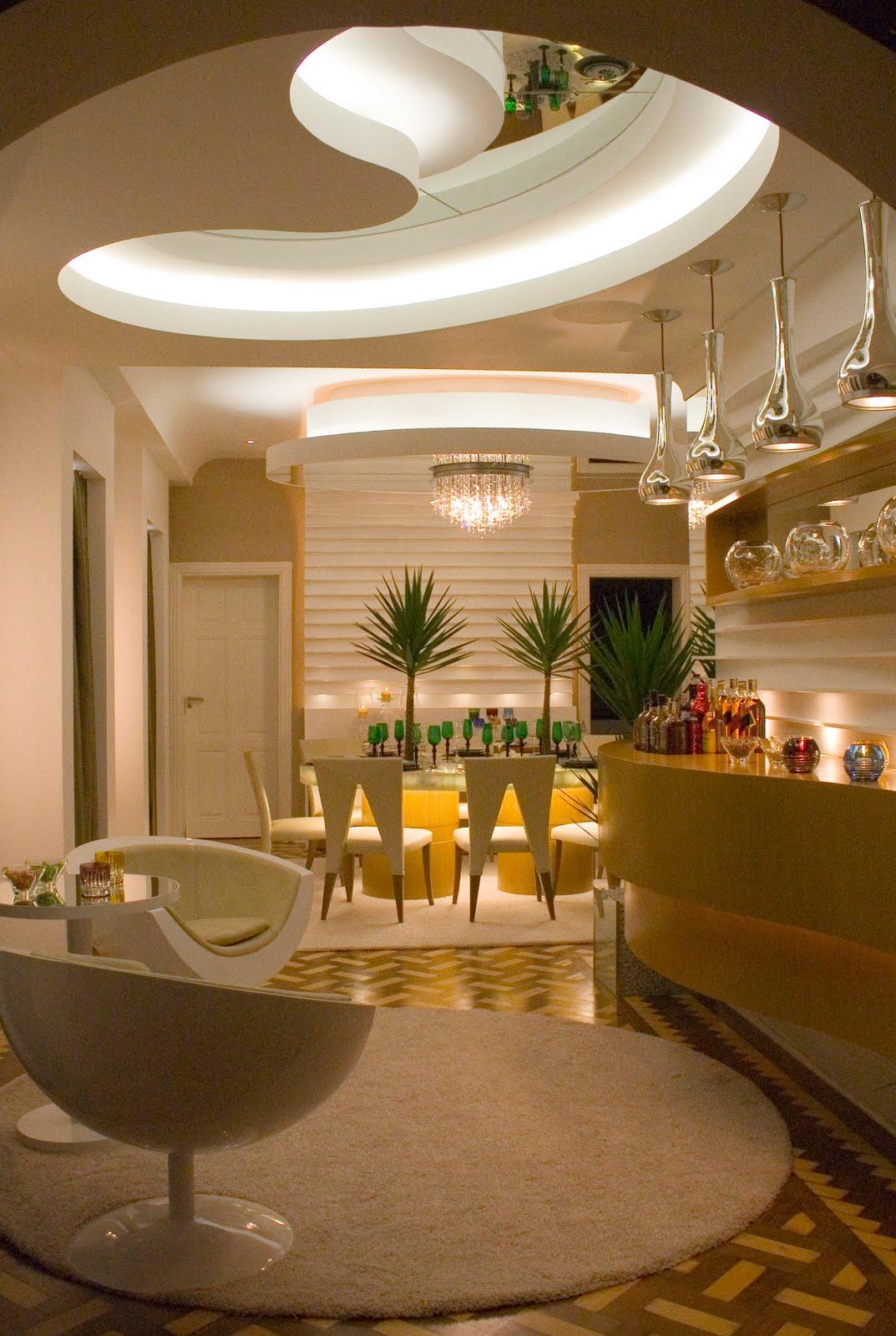 Sala De Jantar Iara Kilaris ~ Programa Por Aí  Arquiteto personaliza ambiente na Campinas Decor