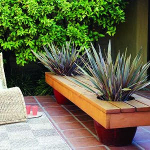 bench planter design