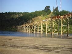 Antiguo Puente sobre Río Itata-Coelemu