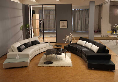 Modern and Luxury Living Room Design