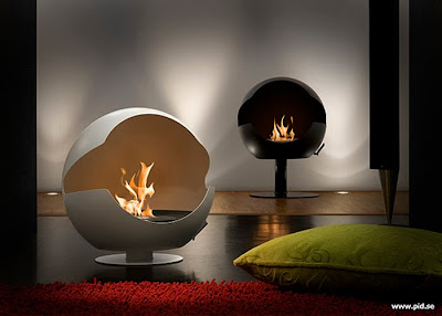 Modern Minimalist Gas Fireplace Design Ideas
