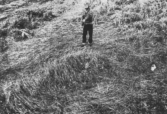 L'affaire de la ferme Fuhr à Langenburg CANADA (1974) EdwardFuhrPoints2Circle560