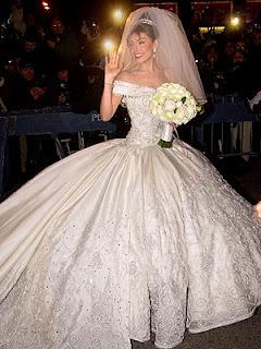 Vestidos de novia de actrices famosas