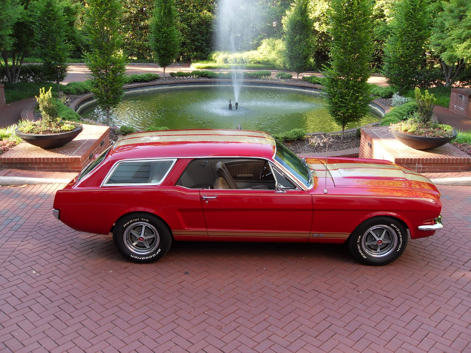 Automobile Brands Of The Past 1965 Mustang Station Wagon