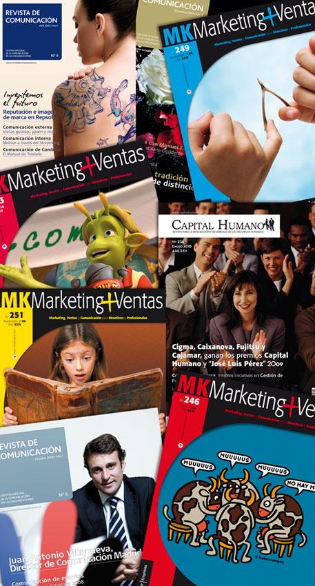 Revistas para el grupo Wolters Kluwers 2006-2010