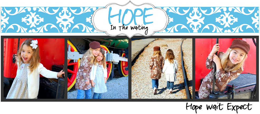 Hope for those going through infertility &amp; infant loss, faith HopeInTheWaiting