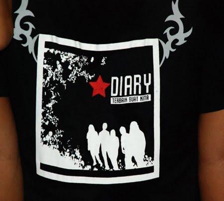 The Diary, Grup Rock Malaysia Teman-teman Chikita Fawzi