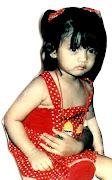 Chikta Fawzi when Toddler 1990
