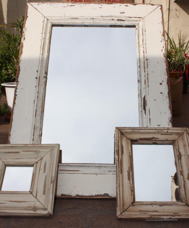 Rosario deco espejos y marcos en madera de demolilcion for Marcos y espejos