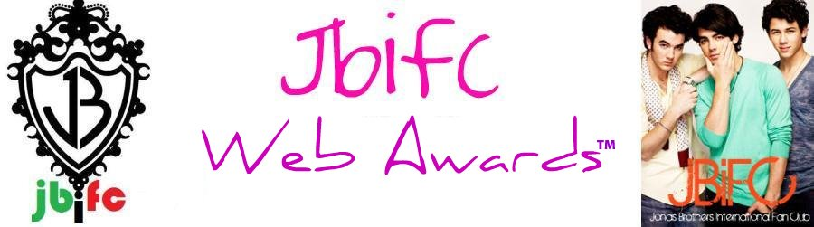 1st JBiFC Web Awards -Lo mejor de la Web-