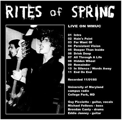 Guy Picciotto Rites Of Spring