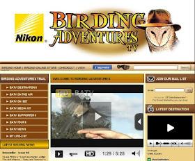 BIRDING ADVENTURES TV
