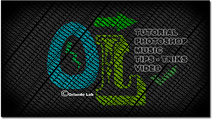 Tutorial Photoshop - membuat wallpaper typography