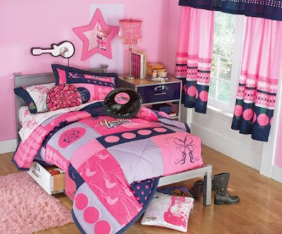hannah montana bedroom on Hannah And Miley Blog        Un Cuarto Con Mucho Rockhannah