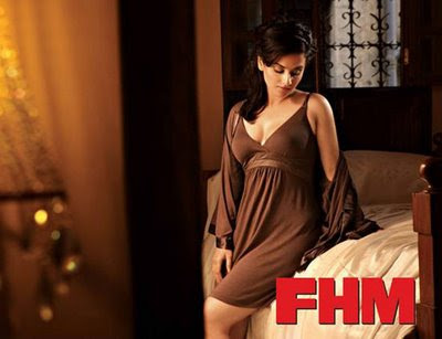 Hot Vidya Balan bikini photo shoot london fhm
